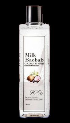 Тонер для лица с кокосовым молоком Milk Baobab Coconut 90 Toner 340мл: фото