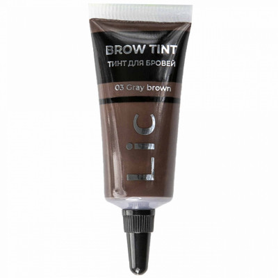 Тинт для бровей Lic Brow Tint 03 Gray brown: фото
