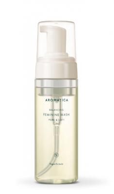 Пенка для интимной гигиены AROMATICA Pure & Soft Feminine Wash 170мл: фото