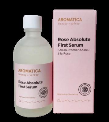 Сыворотка с экстрактом розы AROMATICA Rose Absolute First Serum 130мл: фото