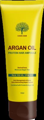 Сыворотка для волос EVAS Char Char ВОССТАНОВЛЕНИЕ/АРГАНОВОЕ МАСЛО Argan Oil Protein Hair Ampoule, 150 мл: фото